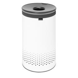 BRABANTIA Wäschesammler Wäschebox 60 Liter WHITE