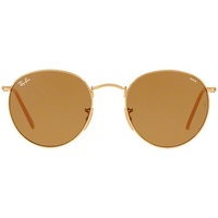 Ray Ban Round Evolve RB3447 gold / brown photochromic