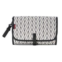 reer Clip&Go Clutch Wickeltasche, Praktische Tasche mit viel Platz zum Verstauen der Wickelutensilien, 1 Stück
