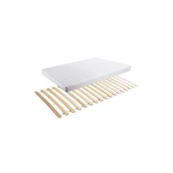 Set Rollrost + Kindermatratze MedAllergen 90x200cm weiß Gr. 90 x 200