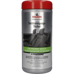 Nigrin Textilreinigungs-Tücher 20397 36 Blatt