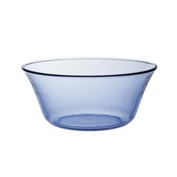 Duralex Salatschüssel Lys Marine, Glas, Schale Salatschale Schüssel 17cm 910ml Glas blau 1 Stück Ø 17 cm x 7.5 cm