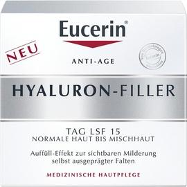 Eucerin Hyaluron-Filler Tagespflege für normale bis Mischhaut Creme 50 ml