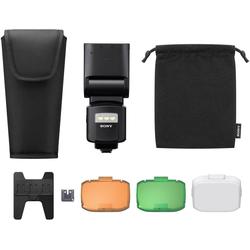 Sony HVL-F60RM Systemblitz, (mit Funkempfänger/-bedienung, integrierter Wireless Sender und Receiver)