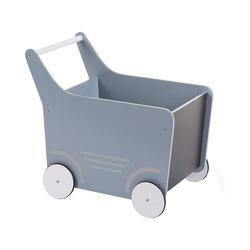 CHILDHOME Puppenwagen Holz-Puppenwagen Stroller, Holz, rosa blau