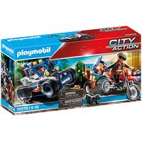 Playmobil City Action Polizei-Geländewagen: Verfolgung des Schatzräubers 70570