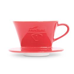 Friesland Kaffee - Kannen und Filter Tassenfilter rot 100 Kaffee - Kannen und Filter 1221791011