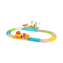 Small Foot Spielzeug-Eisenbahn Holzeisenbahn Junior Kran