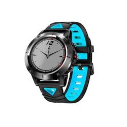 Blue Smart Sports Watch Built-in GPS Fitness Tracker IP68 Waterproof Heart Rate Monitor for Men and Women