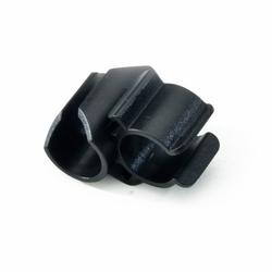 Numatic Besenhalter, schwarz, für Rohre mit 25mm Ø