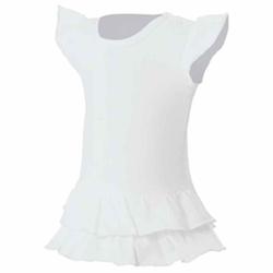 Mädchen T-Shirt Kleid Sandy | nath white 3/4 Jahre