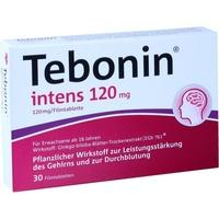 Dr Willmar Schwabe GmbH & Co KG Tebonin intens 120 mg Filmtabletten