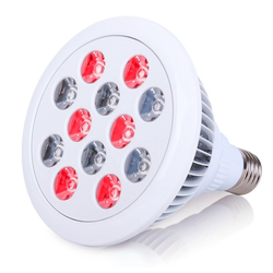 Rosnek Infrarotlampe LED-Infrarot-Kombi-Rotlicht-Therapie-Birne 660/880nm für Haut Schmerzlinderung, 12W