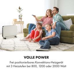 Baltrum Elektroheizung Konvektor 2000 W Standgerät