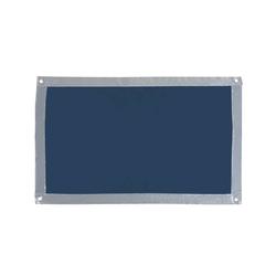 Sonnenschutz für Fenster, Blau, mit Saugnäpfen, 59 x 114 cm