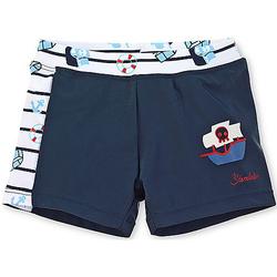 Badeshort - Badebekleidung - dunkelblau Gr. 68 Jungen Baby