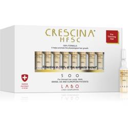 Crescina 500 Re-Growth Pflege zur Förderung des Haarwachstums für Herren 500 20 x 3.5 ml