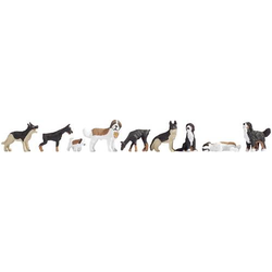 NOCH 15717 H0 Figuren Hunde