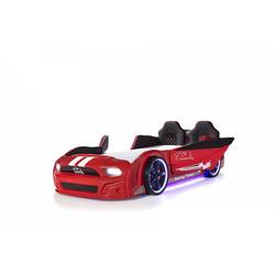 Trebela Autobett Autobett Trebela 500 mit Türen rot