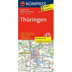 Thüringen 1:125 000