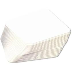 Bierfilze blanko 9,3x9,3cm VE=100 Stück weiß