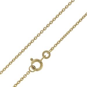 trendor 72047 Halskette für Damen und Herren Gold 333 Ankermuster 1,5 mm, 38 cm