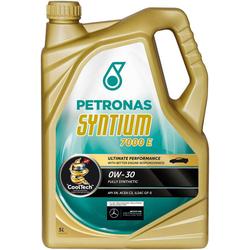 PETRONAS Motoröl Syntium 7000 E 0 W - 30 goldfarben 5 l