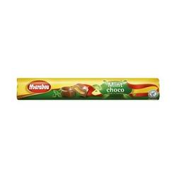 Marabou Rolle Mint Schoko Milchschokolade mit Minz Toffee 78 gramm