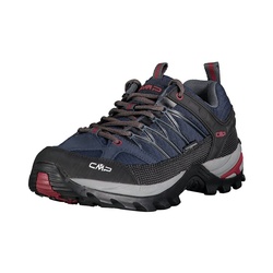 CMP RIGEL LOW TREKKING SHOES WP Wanderschuhe Trekkingschuh blau 47