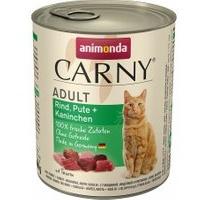 Animonda Carny Adult Rind, Pute & Kaninchen 6 x 800 g