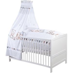 Bett-Set, Schmusebär, Zöllner, normal, Material Füllung: Polyester weiß weiß