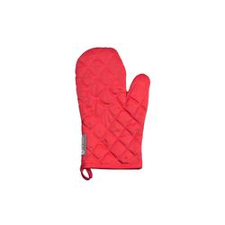 Ross Grillhandschuh in rot mit Nadelstreifen