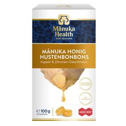 Manuka Health Hustenbonbons Ingwer-Zitrone MGO 400+