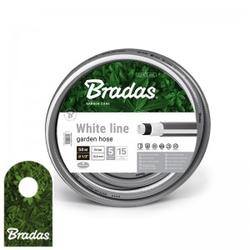 """5 Lagig Schlauch 1/2"""" 50m Gartenschlauch Wasserschlauch WHITE LINE WWL1/250 BRADAS 5656"""