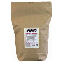 (3,52 EUR/kg) OLEWO Reis-Flocken 7,5 kg für Hunde