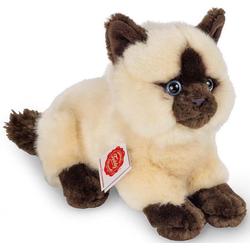 Teddy Hermann® Kuscheltier Siamkatze, liegend, 20 cm