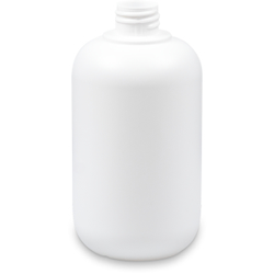 De Witte Flasche, 500 ml, PE-Flasche ideal zum Dosieren, 1 Stück