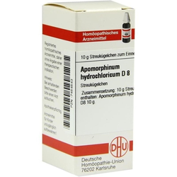 APOMORPHINUM HYDROCHL D 8