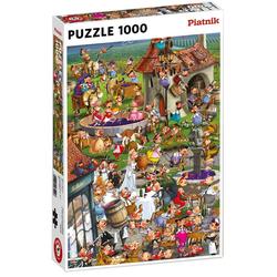 Piatnik Puzzle Francois Ruyer Story of Wine 1000 Teile Puzzle, 1000 Puzzleteile bunt