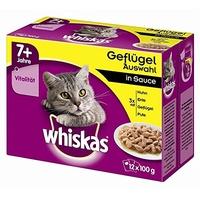 Whiskas 7+ Klassische Auswahl in Gelee 48 x 100 g