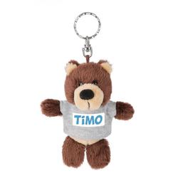 Nici Kuscheltier Teddybär Timo 10 cm Schlüsselanhänger