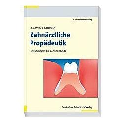 Zahnärztliche Propädeutik - Buch
