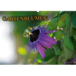 Gartenblumen (Wandkalender 2021 DIN A2 quer)