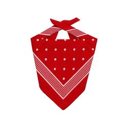 Lipodo Multifunktionstuch (1-St) Kopftuch rot