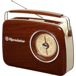 Roadstar TRA-1957N Kofferradio UKW, LW, MW MW, UKW, LW Holz
