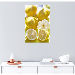 Posterlounge Wandbild, Zitronen Kick 60 cm x 90 cm