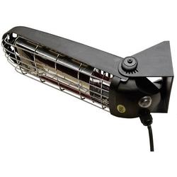 Mo-el Lucciola 1200W Halogen-IR-Strahler 1200W 6m² Schwarz