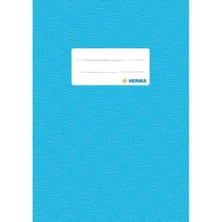 Herma Heftschoner 7433 A5 Folie gedeckt hellblau