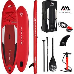 Aqua Marina Inflatable SUP-Board AQUA MARINA Inflatable SUP-Board ++Monster++, (Set, 6 tlg)