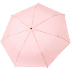 Tamaris Taschenregenschirm Tambrella, rose, mit Metallic-Elementen am Schirmdach